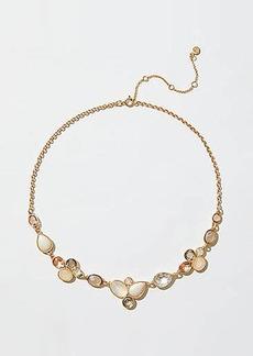 LOFT Pearlized Gem Necklace