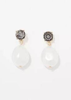 LOFT Pearlized Mini Drop Earrings