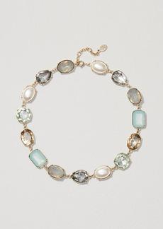 LOFT Pearlized Stone Necklace