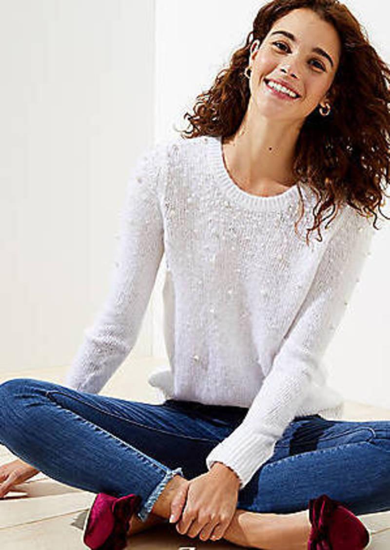 LOFT Pearlized Sweater