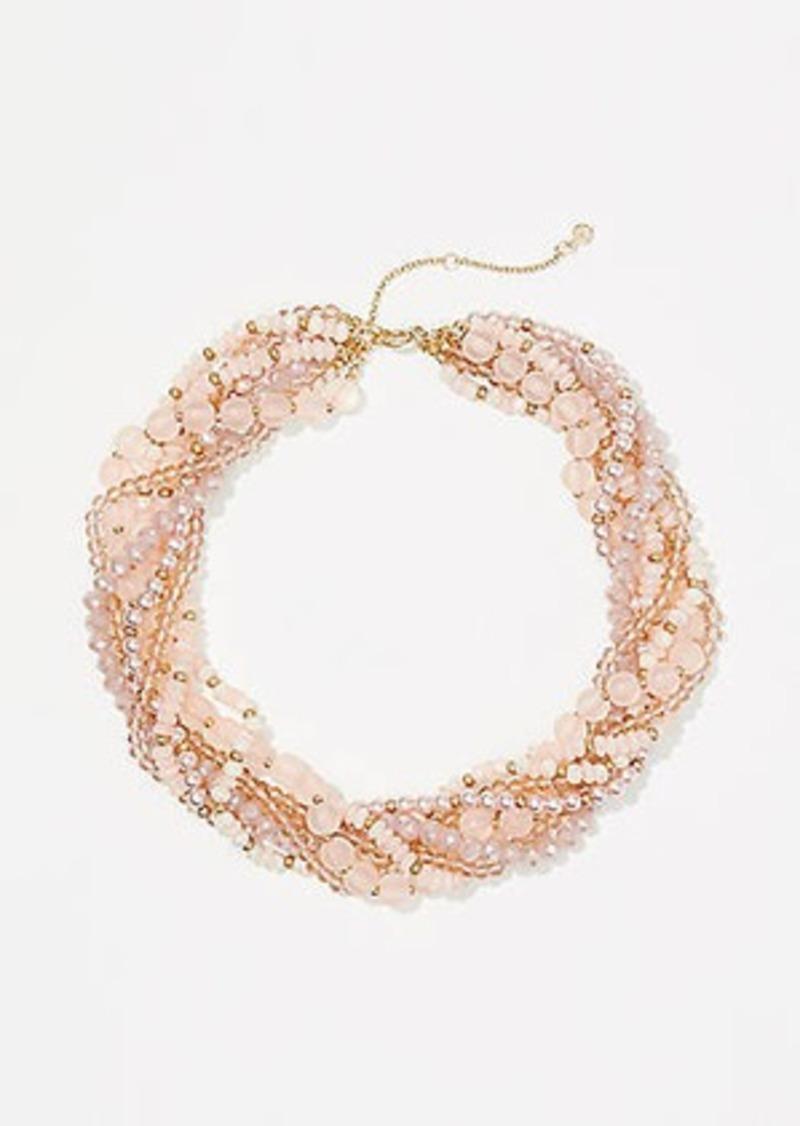 LOFT Pearlized Torsade Necklace