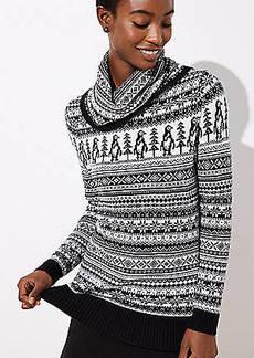 LOFT Penguin Fairisle Sweater