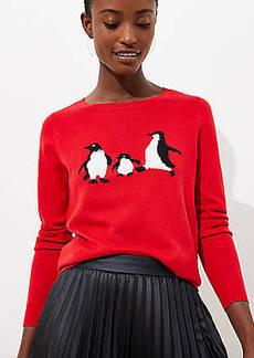 LOFT Penguin Luxe Knit Sweater
