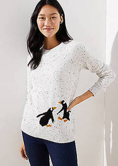 LOFT Penguin Sweater