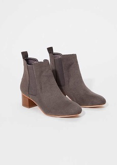 LOFT Perforated Chelsea Boots