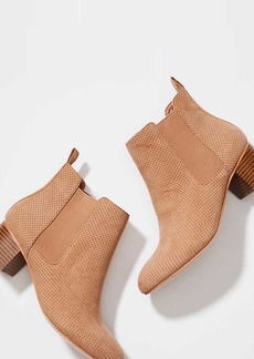 Perforated Chelsea Boots