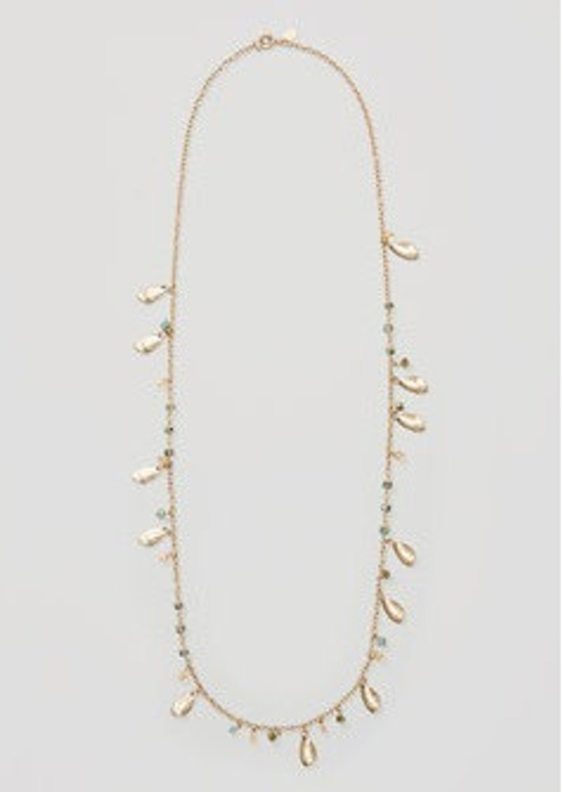 LOFT Petal Beaded Necklace