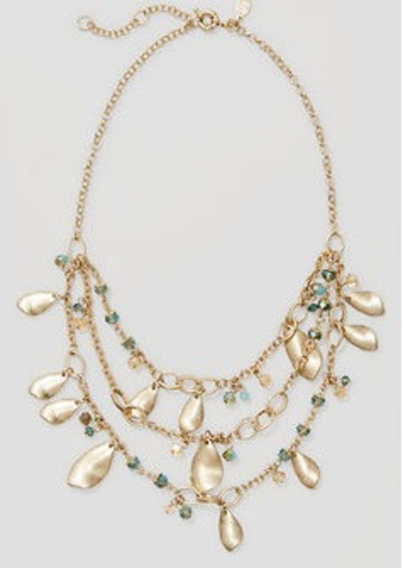 LOFT Petal Statement Necklace
