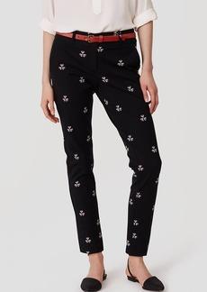 LOFT Petaled Essential Skinny Ankle Pants in Julie Fit