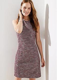 LOFT Petite Boucle Sheath Dress