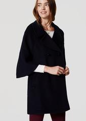LOFT Petite Cape Coat