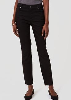 Petite Curvy Skinny Jeans in Black