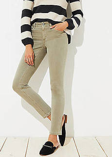 LOFT Petite Curvy Skinny Jeans in Sagebrush