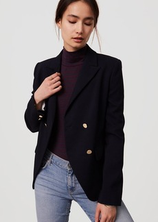 Petite Double Breasted Blazer