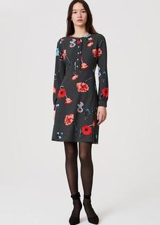 Petite Floral Breeze Shirtdress