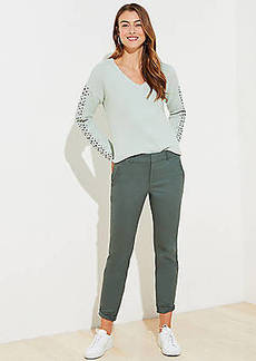 LOFT Petite Girlfriend Chinos