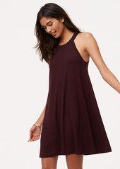 LOFT Petite Halter Swing Dress