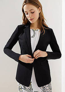 LOFT Petite Knit Modern Blazer