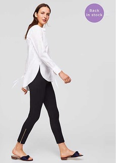 LOFT Petite Leggings in Ankle Zip Bi-Stretch