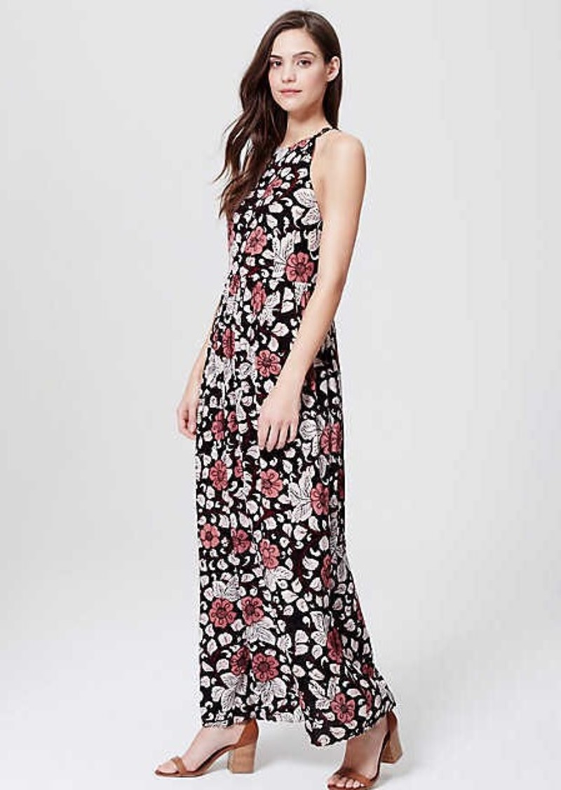 3065297b7b LOFT Petite LOFT Beach Rainforest Floral Strappy Maxi Dress | Dresses