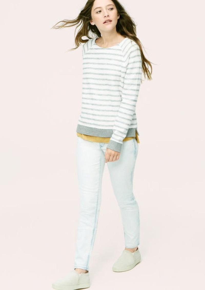LOFT Petite Lou & Grey Skinny Jeans