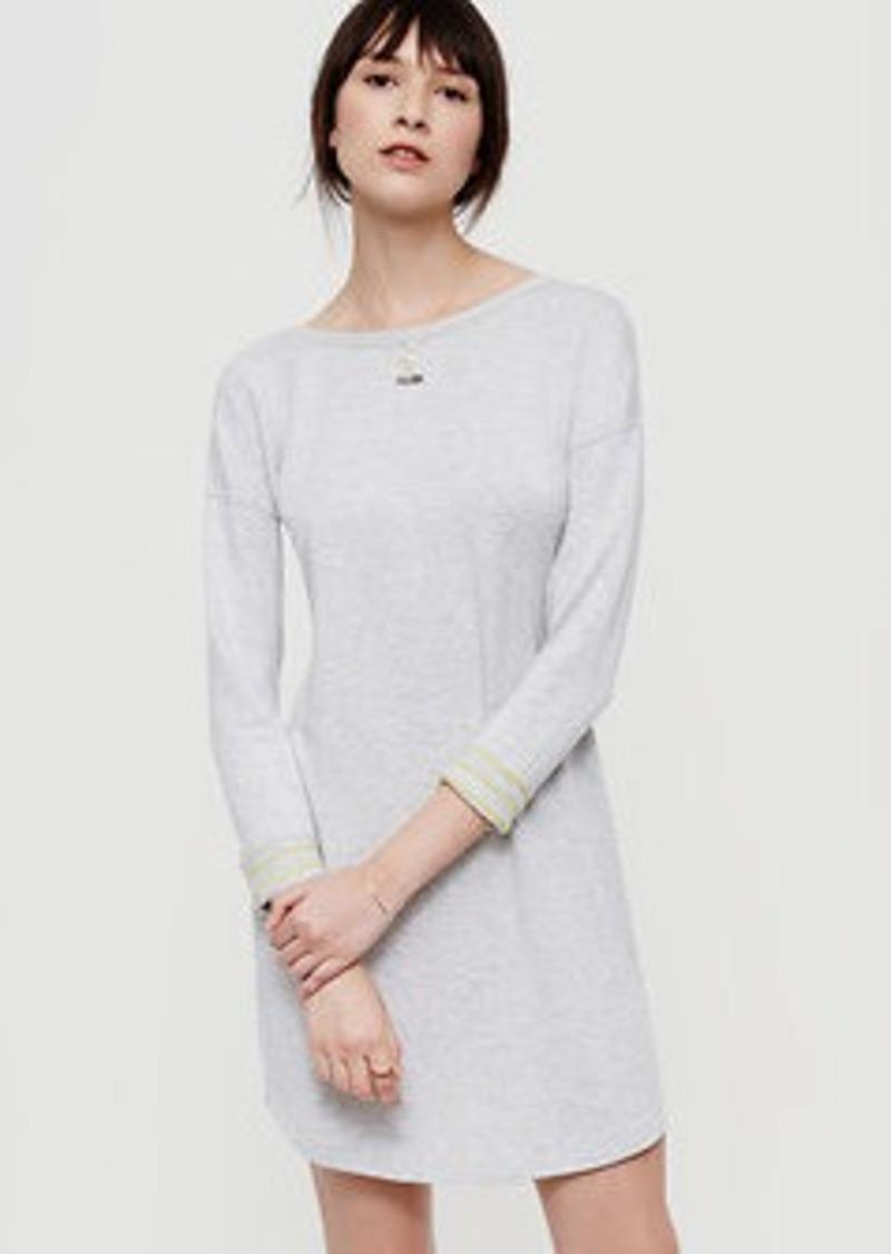 LOFT Petite Lou & Grey Stripeline Signaturesoft Dress