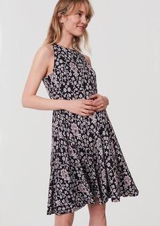 Petite Maternity Jasmine Flare Dress