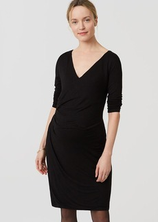 Petite Maternity Wrap Dress