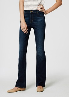 Petite Modern Boot Cut Jeans in Pure Dark Indigo