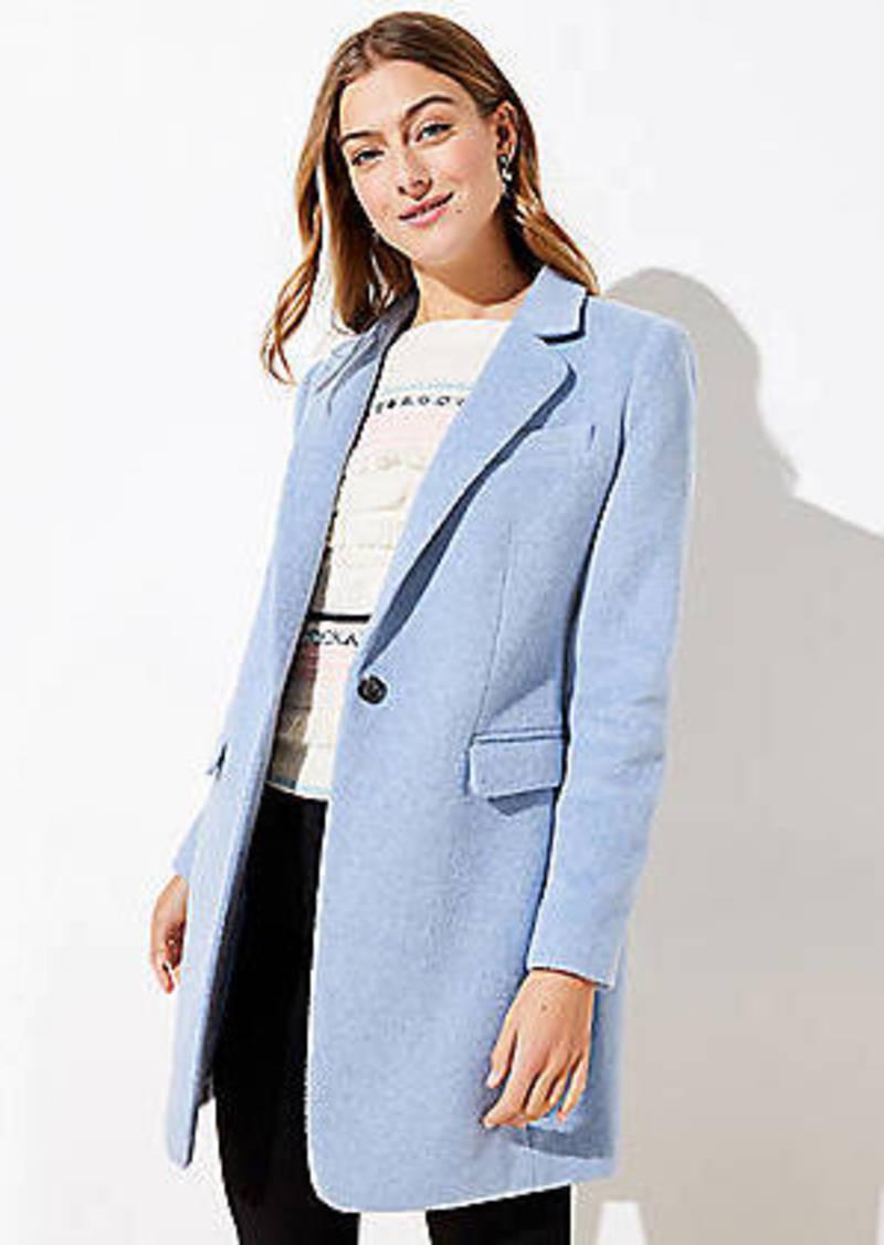 LOFT Petite Modern Coat
