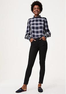 LOFT Petite Modern Skinny Jeans in Black