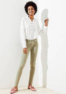LOFT Petite Modern Skinny Jeans in Sagebrush