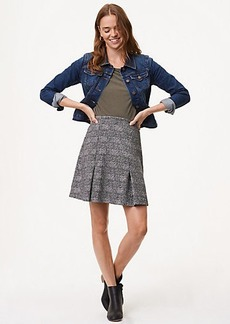 Petite Plaid Pull On Skirt