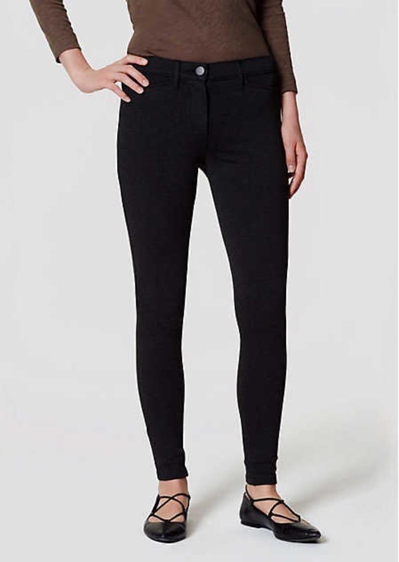 b7e1d6122084f On Sale today! LOFT Petite Ponte Five Pocket Leggings in Marisa Fit
