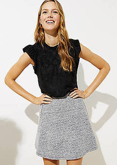 LOFT Petite Pull On Flippy Skirt
