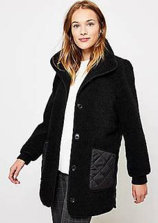 LOFT Petite Quilted Coat