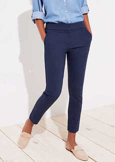 LOFT Petite Skinny Back Slit Ankle Pants in Julie Fit