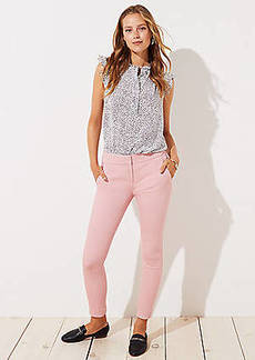 LOFT Petite Skinny Back Slit Pants in Marisa Fit