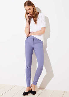 LOFT Petite Skinny Houndstooth Ankle Pants in Marisa Fit