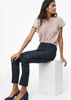 LOFT Petite Skinny Plaid Pants in Marisa Fit