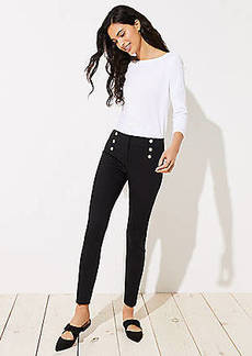 LOFT Petite Skinny Sailor Pants in Marisa Fit