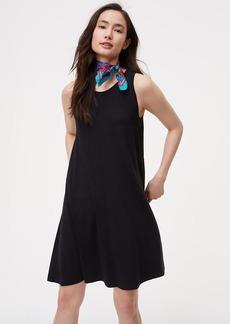 Petite Sleeveless Swing Dress