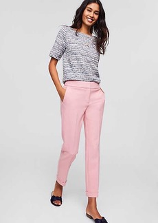 LOFT Petite Slim Cuffed Pants in Marisa Fit