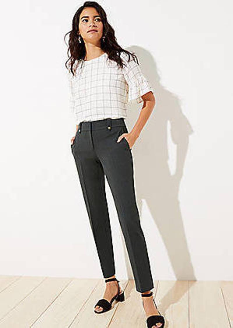 LOFT Petite Slim Pants in Custom Stretch