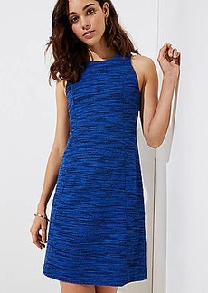 LOFT Petite Spacedye Shift Dress