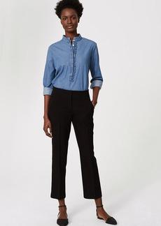 LOFT Petite Straight Leg Ankle Pants