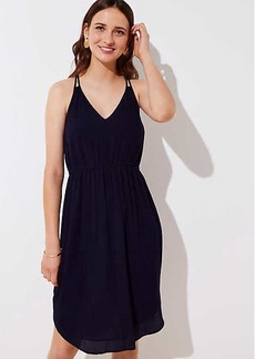 LOFT Petite Strappy Cami Dress