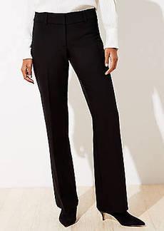 LOFT Petite Doubleweave Trousers in Curvy Fit