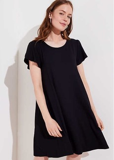 LOFT Petite Tulip Sleeve Swing Dress