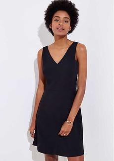 LOFT Petite V-Neck Sheath Dress